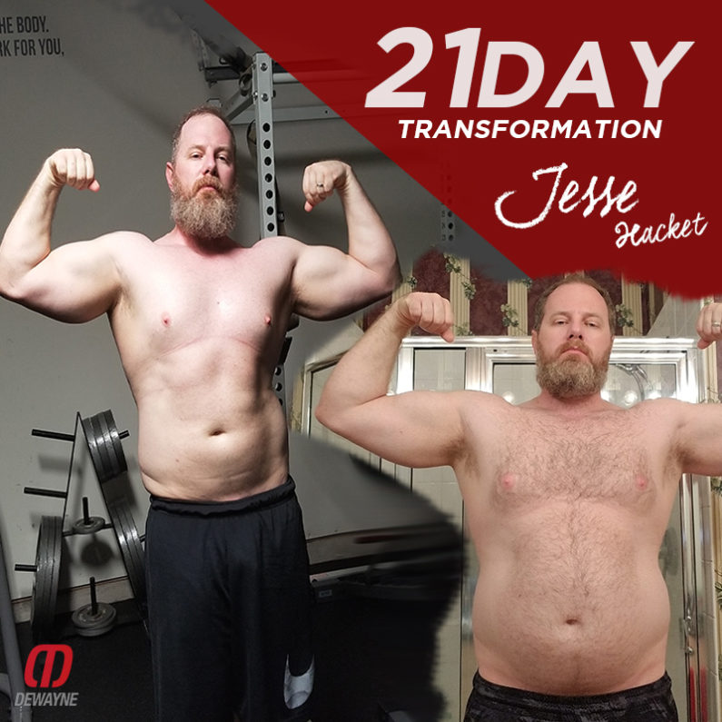 Transformation Story of Jesse Hackett