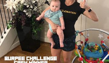 Aptitude Burpee Challenge Wiiner Jessica Schmidt