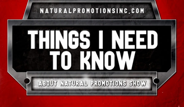 Information about Natural Promotions Inc. Events this 2021